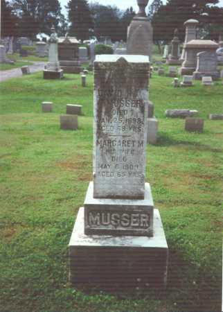 WOLFE MUSSER, MARGARET M. - York County, Pennsylvania | MARGARET M. WOLFE MUSSER - Pennsylvania Gravestone Photos