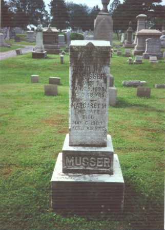MUSSER, MARGARET M. - York County, Pennsylvania | MARGARET M. MUSSER - Pennsylvania Gravestone Photos