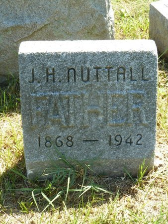 NUTTALL, J.  H. - York County, Pennsylvania | J.  H. NUTTALL - Pennsylvania Gravestone Photos