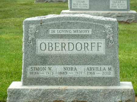 OBERDORFF, SIMON  W. - York County, Pennsylvania | SIMON  W. OBERDORFF - Pennsylvania Gravestone Photos