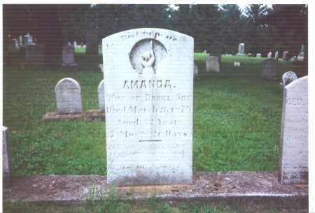 SIPE, AMANDA - York County, Pennsylvania | AMANDA SIPE - Pennsylvania Gravestone Photos