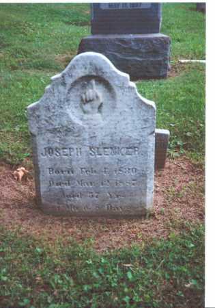 SLENKER, JOSEPH - York County, Pennsylvania | JOSEPH SLENKER - Pennsylvania Gravestone Photos