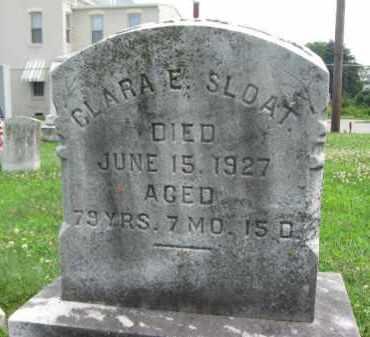 SLOAT, CLARA E. - York County, Pennsylvania | CLARA E. SLOAT - Pennsylvania Gravestone Photos