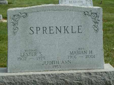 SPRENKLE, LESTER S. - York County, Pennsylvania | LESTER S. SPRENKLE - Pennsylvania Gravestone Photos