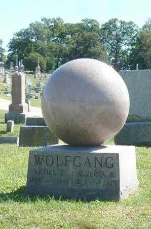 WOLFGANG, ALVERTA B - York County, Pennsylvania | ALVERTA B WOLFGANG - Pennsylvania Gravestone Photos