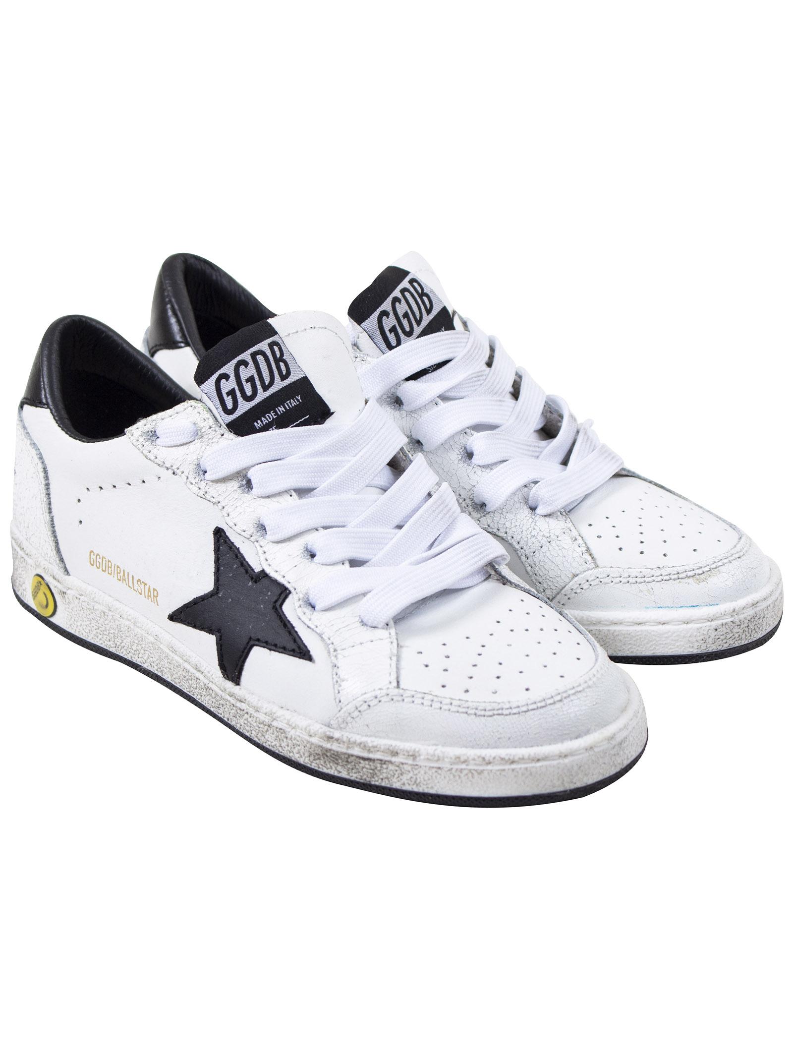 Ballstar child sneakers - GOLDEN GOOSE