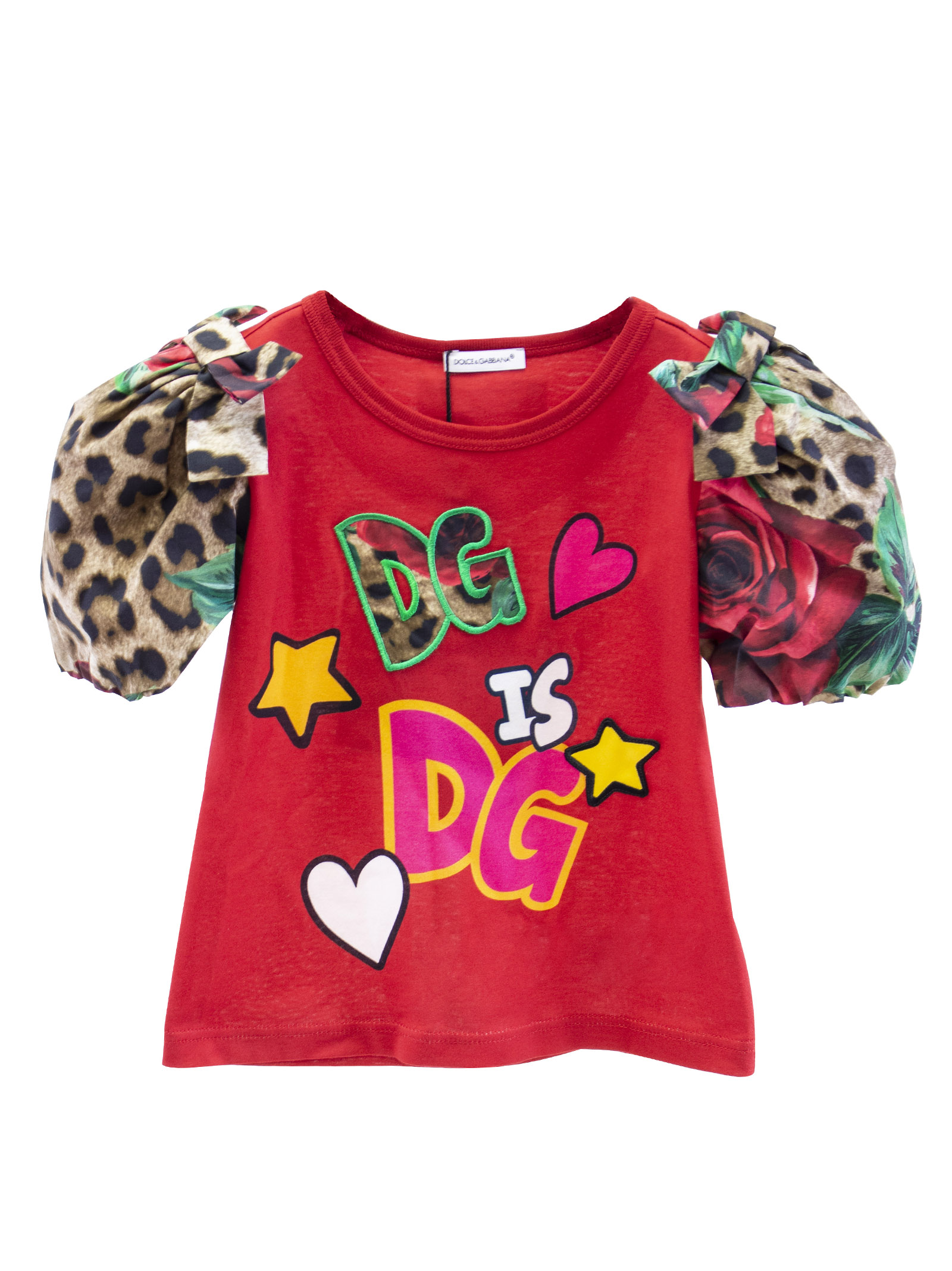 09bb6ffcce1 HOME   CATEGORIES   CLOTHING   T-SHIRT   LITTLE GIRL T-SHIRT WITH PUFF  SLEEVE