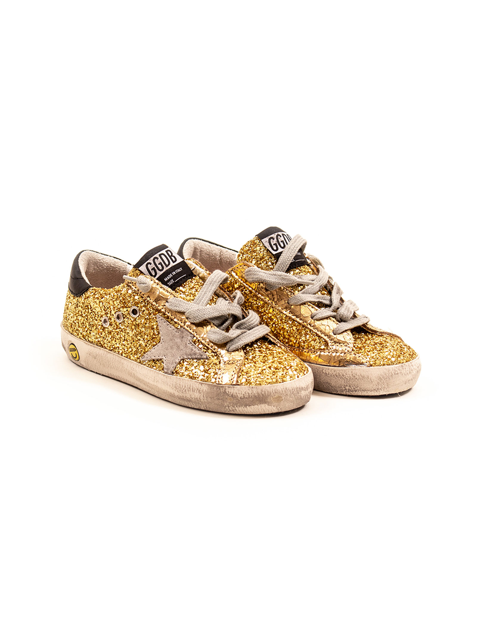 buy popular e1bfb db407 Sneakers bambina superstar glitter