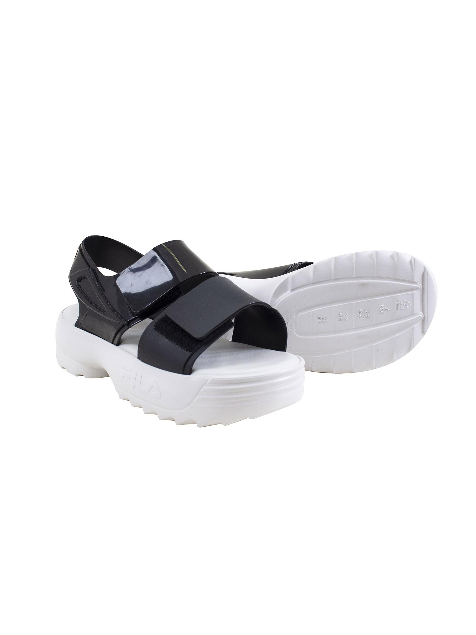 f1d468000539 Open woman shoe Melissa Fila - MELISSA DONNA - Petit Pasha