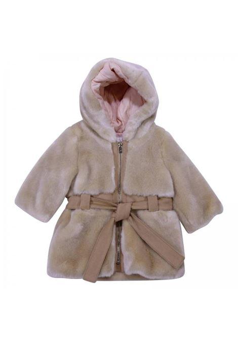 pelliccia con cappuccio CHLOE' | Cappotto | C06082231