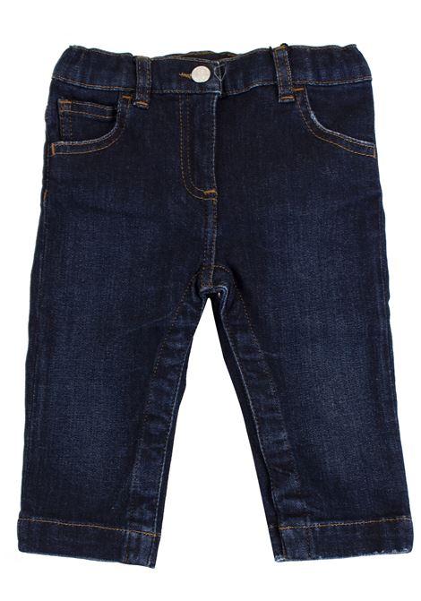 Pantalone neonato con patch DOLCE & GABBANA KIDS | Pantaloni | L21F64 LD770B0665