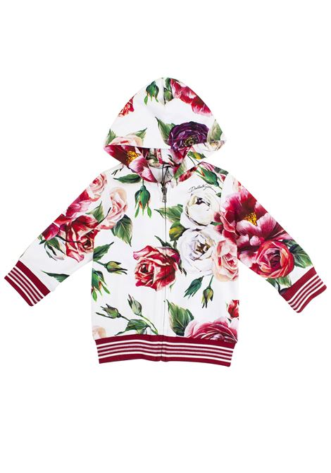Felpa neonato a fiori DOLCE & GABBANA KIDS | Felpe | L2JWT3 G7OSHHAR40