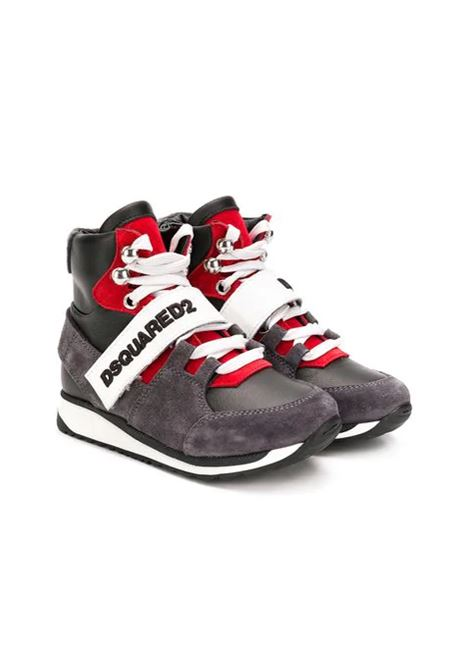 Sneakers bambino alte DSQUARED2 JUNIOR | Sneakers | 5715802