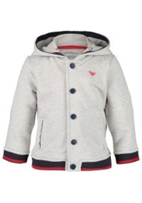 Kids sweatshirt with hood EMPORIO ARMANI KIDS | Sweatshirts | 6ZHB05 4J26Z0641
