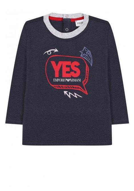 EMPORIO ARMANI KIDS | T-shirt | 6ZHD01 4J09Z0919