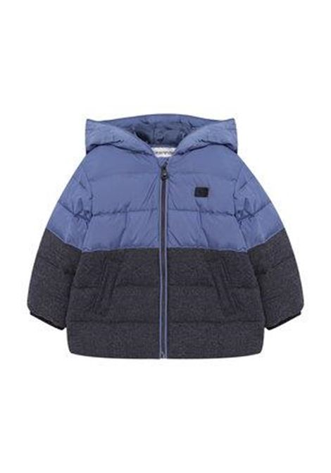 Two-colored down jacket EMPORIO ARMANI KIDS | Padded jackets | 6ZHL01 4NGJZ0949