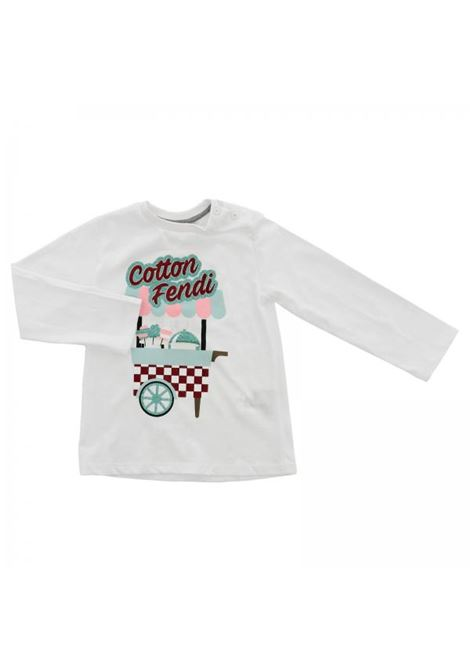 Baby T-shirt with print FENDI KIDS | T-shirt | BFI081 7AJF0QA0