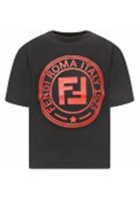 con bollo FENDI KIDS | T-shirt | JMI218 7AJF0QA1