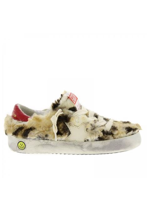 Baby fur sneakers GOLDEN GOOSE KIDS | Sneakers | G33KS501A62