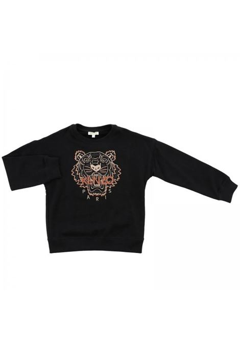 Girl sweatshirt with logo KENZO KIDS | Sweatshirts | KM1504829
