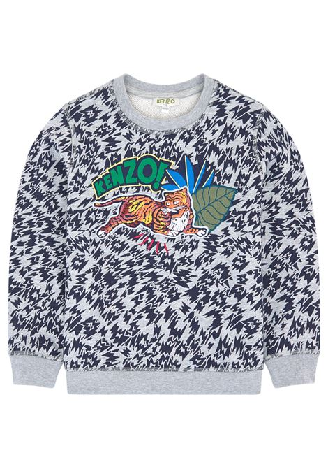 Patterned baby sweatshirt KENZO KIDS | Sweatshirts | KM1560825