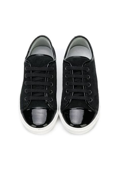 Baby sneakers with laces LANVIN KIDS | Sneakers | 5847701
