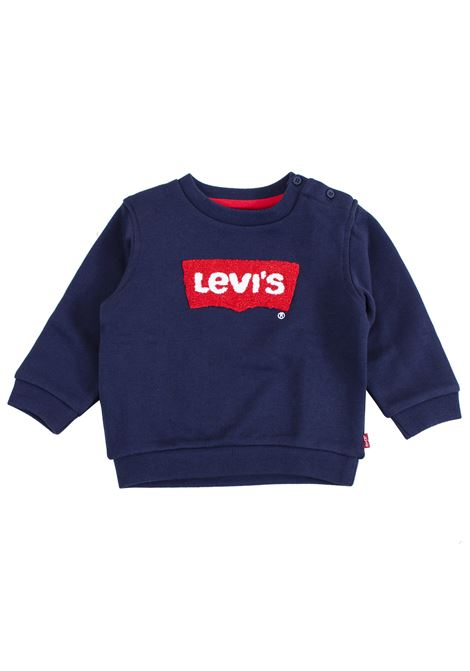 Newborn sweatshirt with embroidery LEVIS ITALIA KIDS | Sweatshirts | NM1500448