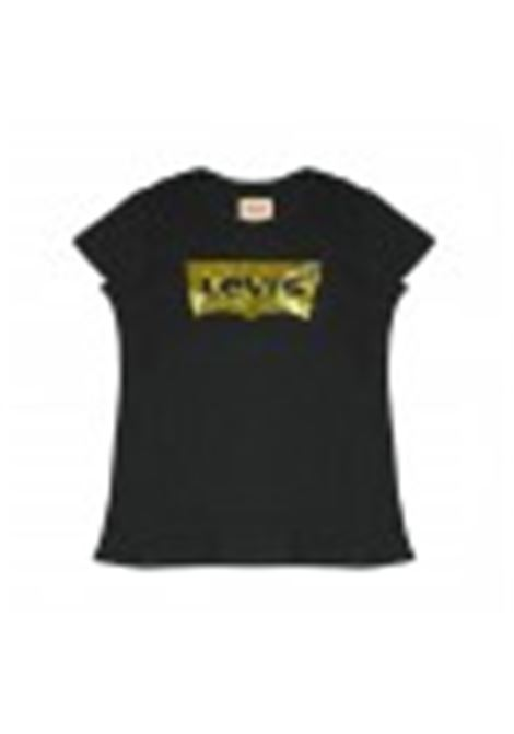 Little girl t-shirt with logo print LEVIS ITALIA KIDS | T-shirt | 18HNM1064774