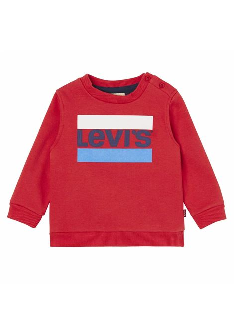 Printed baby sweatshirt LEVIS ITALIA KIDS | Sweatshirts | NM1501436