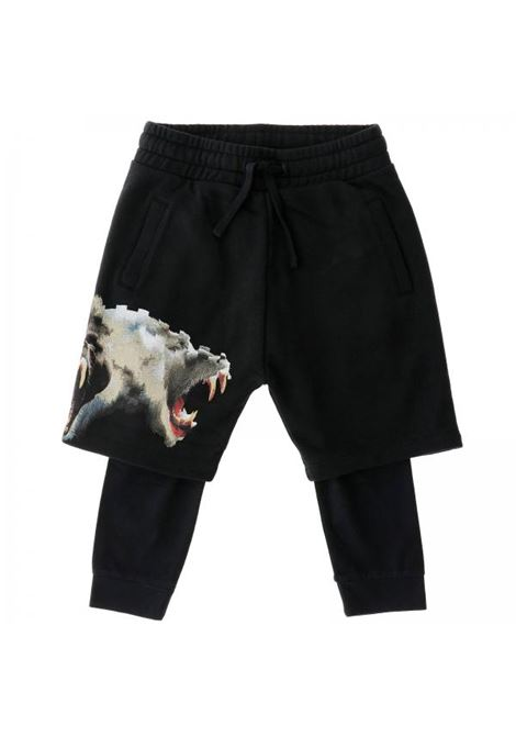 Leggins bambino con pantaloncino MARCELO BURLON KIDS | Pantaloni | 3016-0020B010
