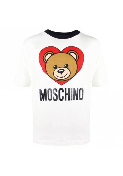 MOSCHINO KIDS | Maxi t-shirt | HDM02KLBA0410063