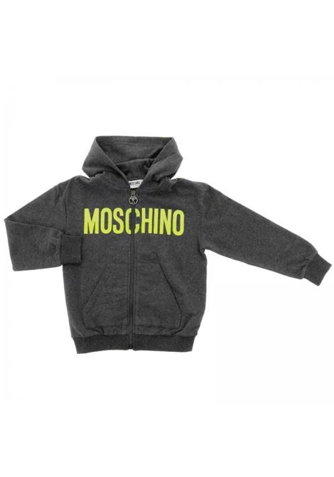 Kids sweatshirt with front logo MOSCHINO KIDS | Sweatshirts | HUF029LDA0760907
