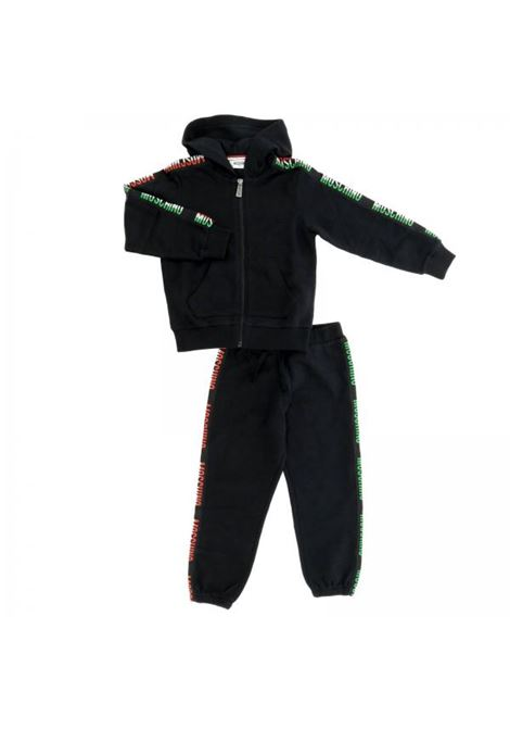 Complete child with tricolor stripes MOSCHINO KIDS | Suits | HUK01HLCA0360100