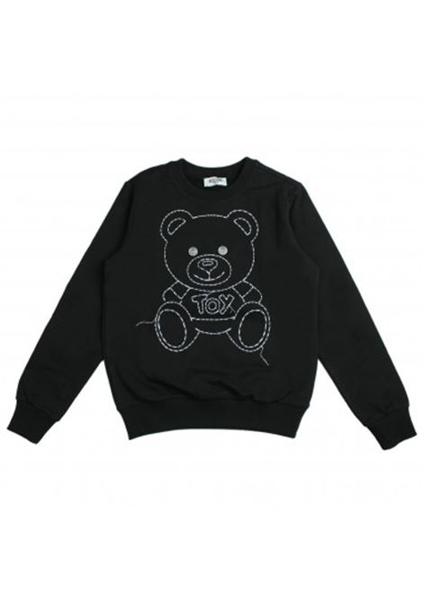 Embroidered baby sweatshirt MOSCHINO KIDS | T-shirt | HZF01QLDA0260100
