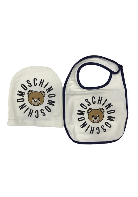 Two-tone baby set with print MOSCHINO KIDS | Set | MMY00XLDA0910063