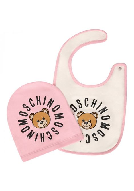 Two-tone baby set with print MOSCHINO KIDS | Set | MMY00XLDA0950186