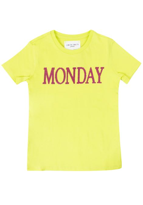 T-shirt bambina Monday ALBERTA FERRETTI JUNIOR | T-shirt | 020303T020