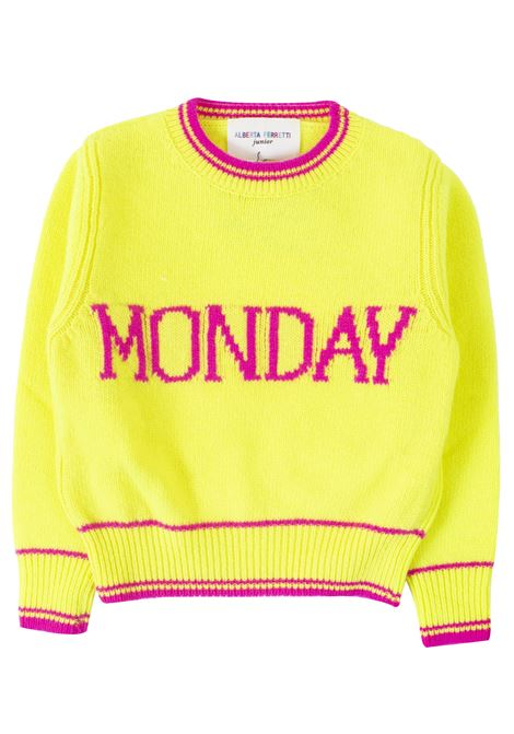 Baby girl sweater Monday ALBERTA FERRETTI JUNIOR | Pull | 020304020