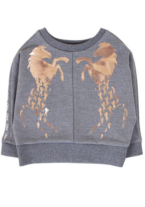 Girl sweatshirt with print CHLOE' KIDS | Sweatshirts | C15A70A38
