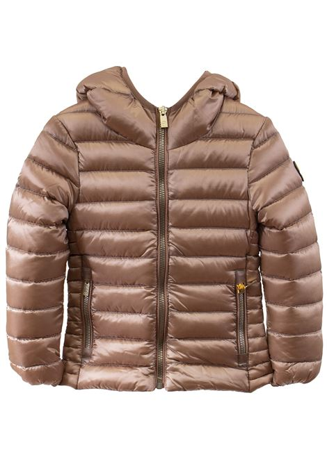Little girl down jacket with hood CIESSE PIUMINI | Jacket | AGHATA847