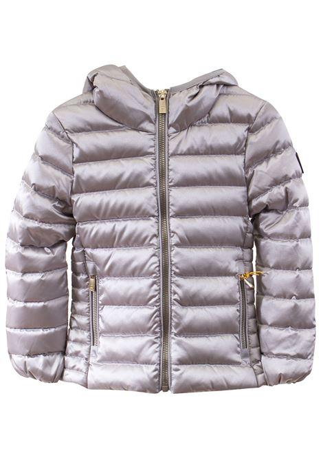 Little girl down jacket with hood CIESSE PIUMINI | Jacket | AGHATAT9119