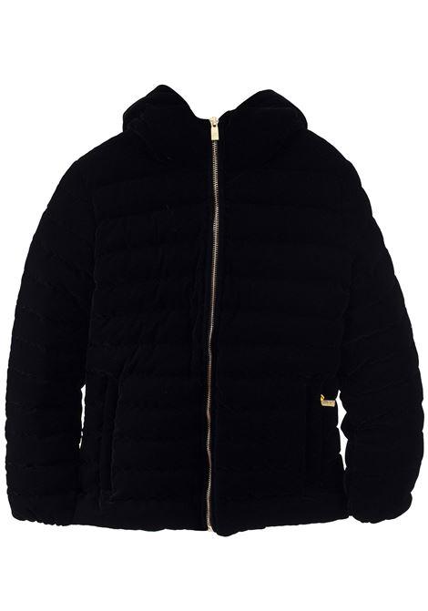 Little girl down jacket with hood CIESSE PIUMINI | Jacket | CELIA2019