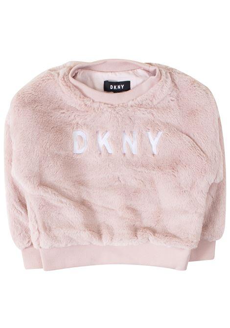 Felpa bambina DKNY KIDS | Felpe | D35Q43T461