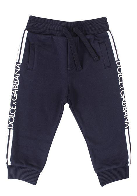Newborn trousers DOLCE & GABBANA KIDS | Trousers | L1JPWLG7SSXB3681
