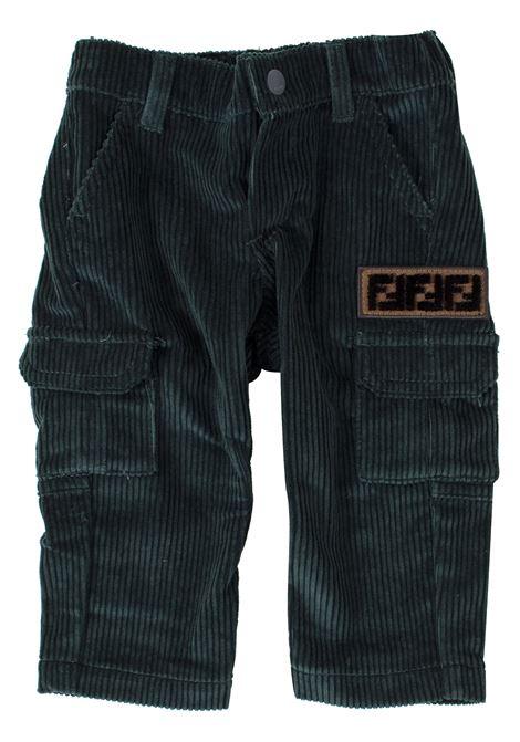 Newborn trousers FENDI KIDS | Trousers | BMF148A8L2F0CK5