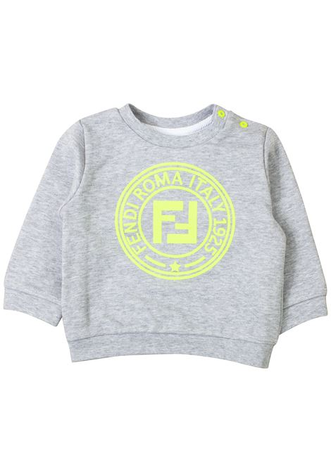 Sweatshirt with newborn logo