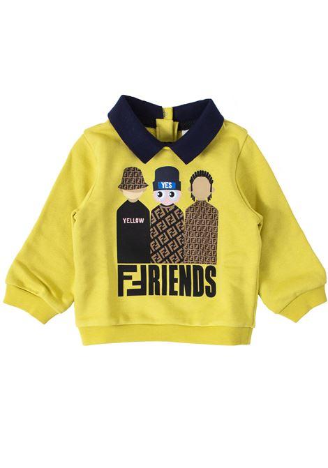 Newborn sweatshirt FENDI KIDS | Sweatshirts | BMH0595V0F0WU3