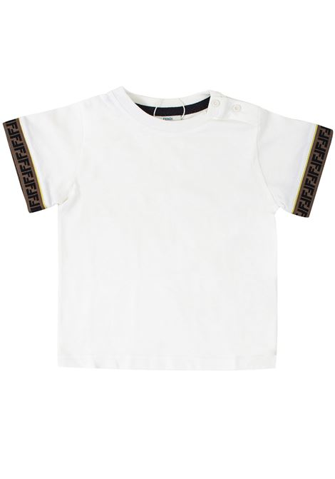 Baby T-shirt FENDI KIDS | T-shirt | BMI1937AJF16WF