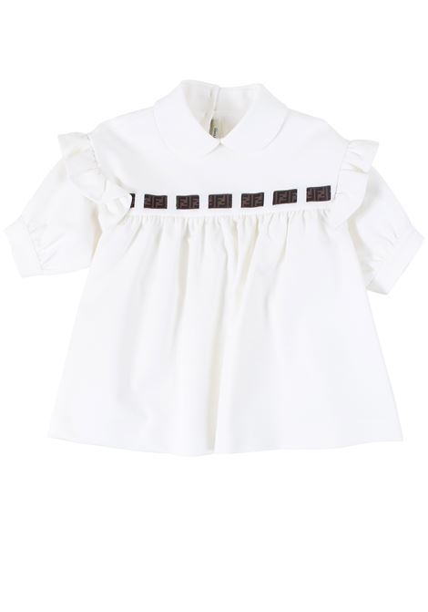 Little girl shirt FENDI KIDS | Shirt | JFC049A7LOF16WF