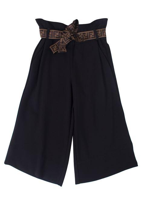 Girl trousers FENDI KIDS | Trousers | JFF149A6IKF0QA1